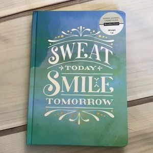 Fitness Hardcover Guided Journal by Recollections